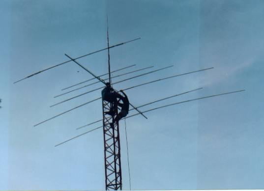 Building The X7 Antenna